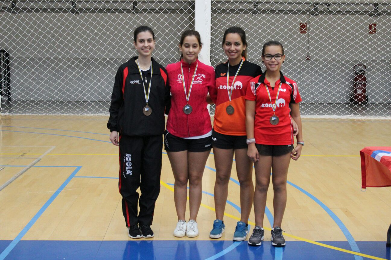 Podium Individuales Femeninos