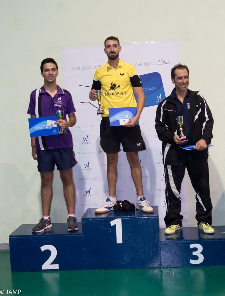 1 Podium Top 16 Absoluto Masculino